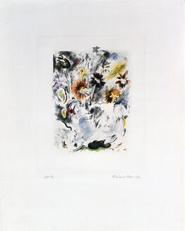 Richard Hamilton, Multi-coloured flower piece
