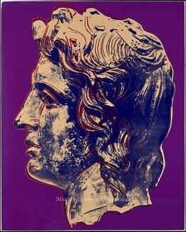 Andy Warhol, Alexander the Great, 1982 (#291)