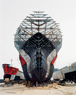 Edward Burtynsky, Shipyard #11, Qili Port, Zhejiang Province, China