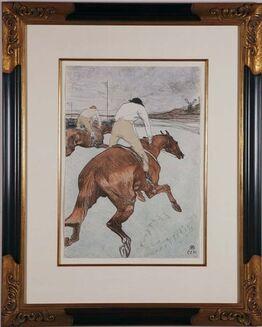 Henri de Toulouse-Lautrec, Les Jockeys - Chevaux de Courses