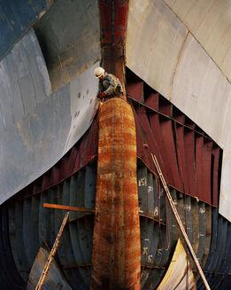 Edward Burtynsky, Shipyard #18, Qili Port, Zhejiang Province, China