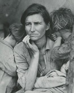Dorothea Lange, Migrant Mother, Nipomo, California