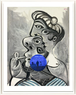 Jeff Koons, Gazing Ball (Picasso Couple)