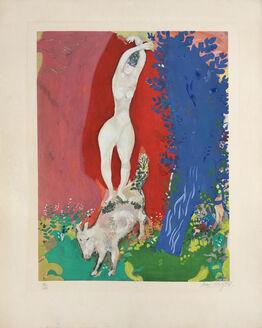 Marc Chagall, Femme de Cirque (Circus Woman)