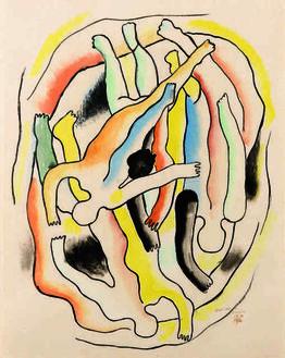 Fernand Léger, Etude pour les plongeurs