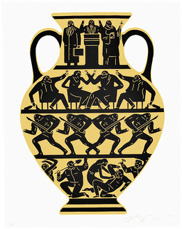 Cleon Peterson, TRUMP 2017 (White & Gold)
