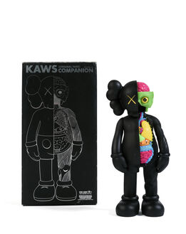 KAWS, Five Years Later Dissected Companion (Noir)