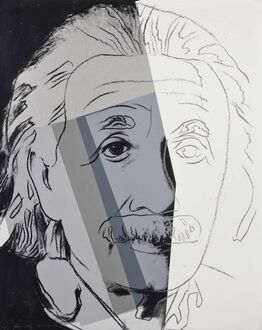 Andy Warhol, Ten Portraits of Jews of the Twentieth Century: Albert Einstein II.229