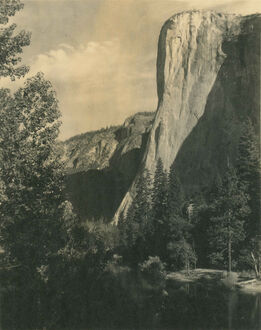 Ansel Adams, El Capitan, Yosemite Valley