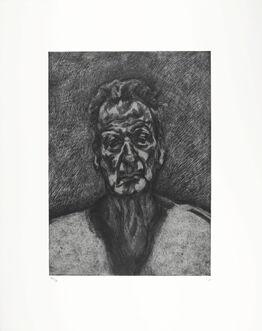 Lucian Freud, Self Portrait: Reflection