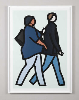 Julian Opie, New York Couple 2
