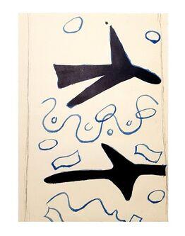 Georges Braque, Georges Braque - Birds - Original Lithograph
