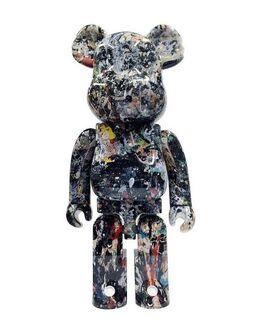 Jackson Pollock, Jackson Pollock Bearbrick 1000% Companion (Jackson Pollock BE@RBRICK)