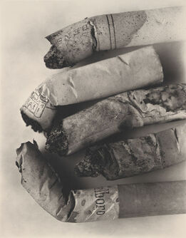 Irving Penn, Cigarette No. 125, New York