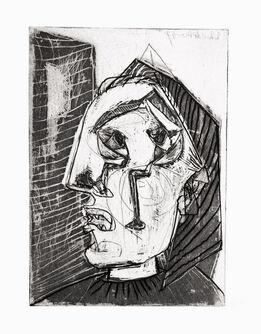 Pablo Picasso, Femme qui pleure devant un Mur