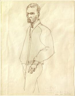 Alex Katz, Self-Portrait