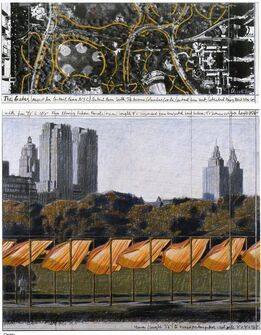 Christo and Jeanne-Claude, The Gates (Project for Central Park, NYC)