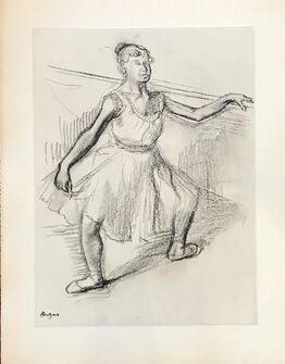 Edgar Degas,  Danse Dessin