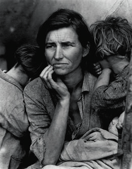 Dorothea Lange, Migrant Mother, Nipomo, CA
