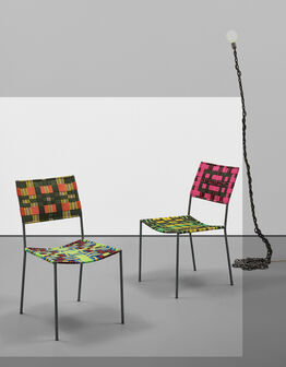 Franz West, Two works: (i-ii) Onkel Stuhl (Uncle Chair)