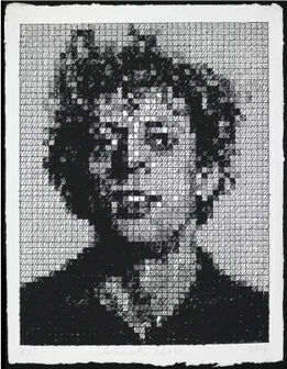 Chuck Close, Phil Crosshatch