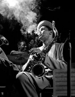 Herman Leonard, Dexter Gordon, New York
