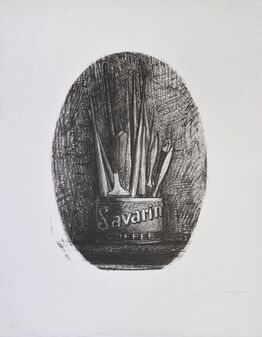 Jasper Johns, Savarin 4, Oval