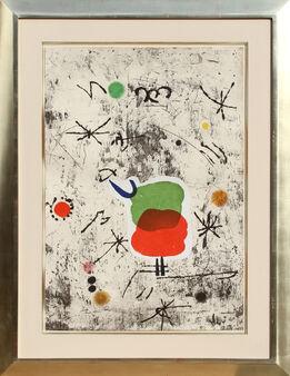 Joan Miró, Serie Personatges I Estels: Plate 1