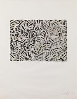 Jasper Johns, Corpse and Mirror