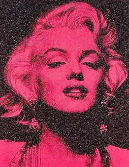 Russell Young, Marilyn Portrait California (Hollywood Pink)