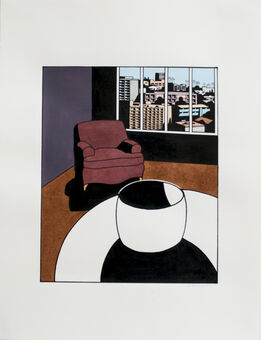 Ken Price, Untitled (Interior)
