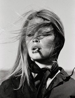 Terry O'Neill, Brigitte Bardot in Spain - Bardot Cigar