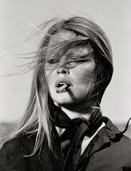 Terry O'Neill, Brigitte Bardot in Spain - Bardot Cigar