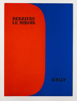 Ellsworth Kelly, original lithograph from 'Derrière le Miroir' No. 149, cover