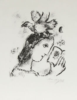 Marc Chagall, Homage to Elsa Triolet
