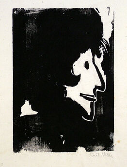 Emil Nolde, Profile of a Woman