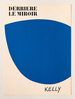 Ellsworth Kelly, original lithograph from 'Derrière le Miroir' No. 110, cover