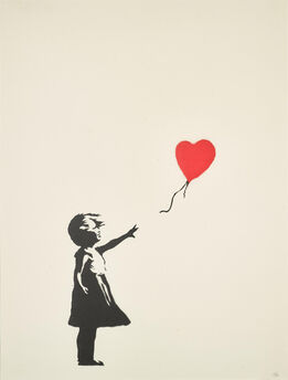 Banksy, Girl with Balloon (Unsigned)