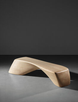 Zaha Hadid, Ordrupgaard bench, model no. PP995, designed for the Ordrupgaard Museum extension, Charlottenlund, Denmark