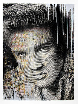 Mr. Brainwash, KING OF ROCK (ELVIS PRESLEY) - SILVER