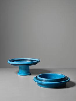 Ettore Sottsass, Fruit dish, model no. 606 and ashtray, variant of model no. 604