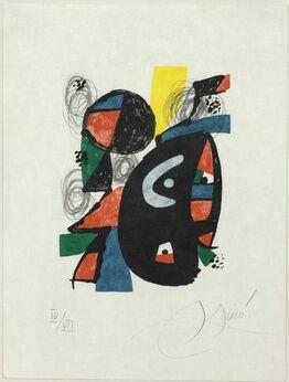 Joan Miró, La Mélodie Acide, IV