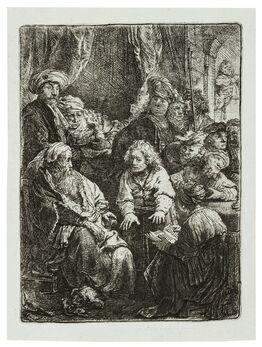 Rembrandt van Rijn, Joseph Telling his Dreams