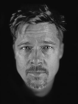 Chuck Close, Untitled (Brad)