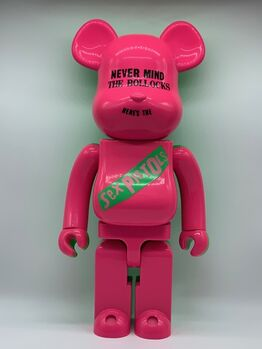 BE@RBRICK, Sex Pistols : Nevermind The Bollocks 1000% (Pink and green)