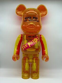 BE@RBRICK, Sex Pistols: Nevermind The Bollocks 1000% (Clear version)
