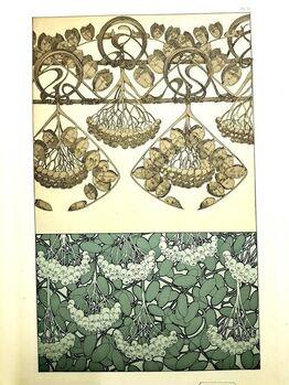 """Alphonse Mucha, Original Lithograph """"Plants"""" by Alphonse Mucha"""
