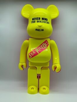 BE@RBRICK, Sex Pistols : Never Mind the Bollocks 1000% (Yellow and pink)