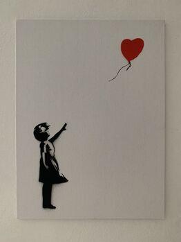 "Banksy, BANKSY DISMALAND ""BALLOON GIRL"""
