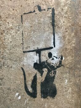"Banksy, ""Anarchy Rat / Peace Rat"""